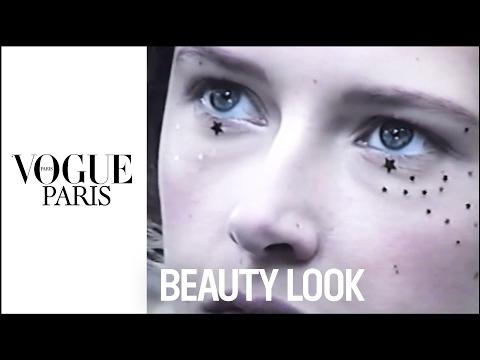 Dior's celestial haute couture beauty look    VOGUE PARIS