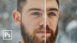 Dodging and burning в Adobe Photoshop CC || Уроки Виталия Менчуковского