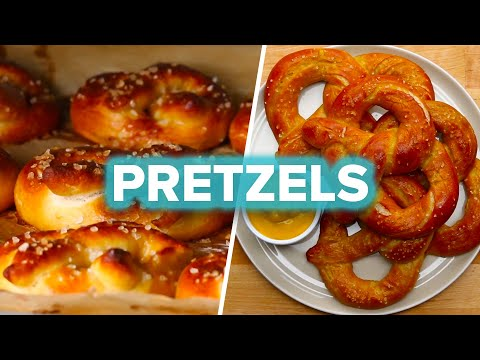 How to make cinnamon pretzel bites without yeast