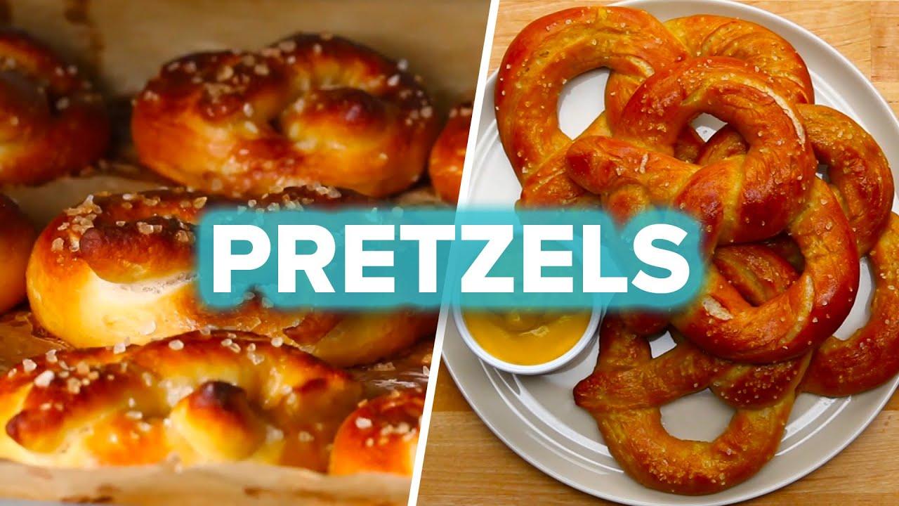 maxresdefault - Homemade Pretzels 4 Ways