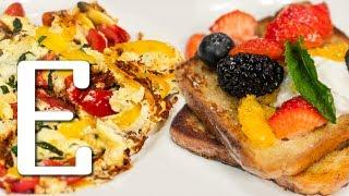 Французские тосты и омлет — рецепт Едим ТВ