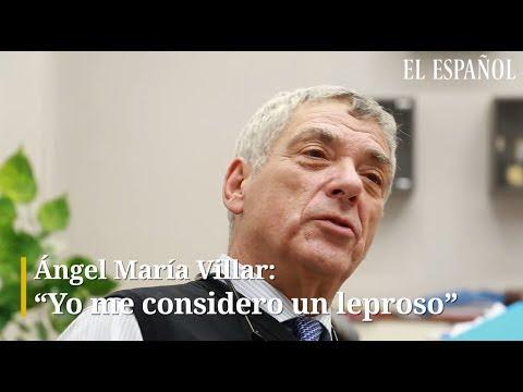 """Ángel María Villar: """"Me considero un leproso"""""""