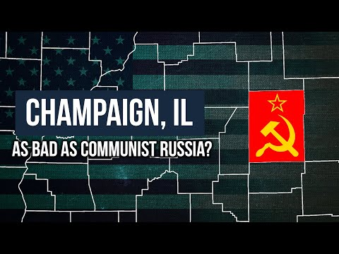COVID-19: Champaign, IL As Bad As Communist Russia?