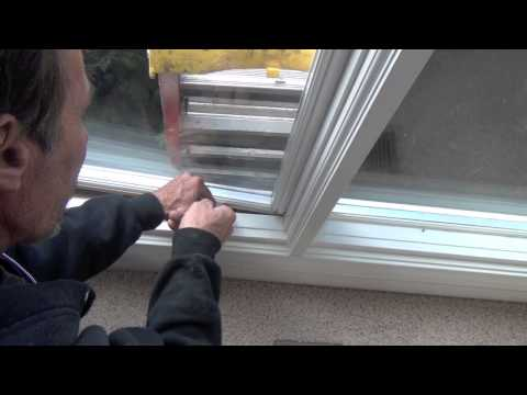 How to Replace Sash in a Weather Shield [Non-moving] Casement Window
