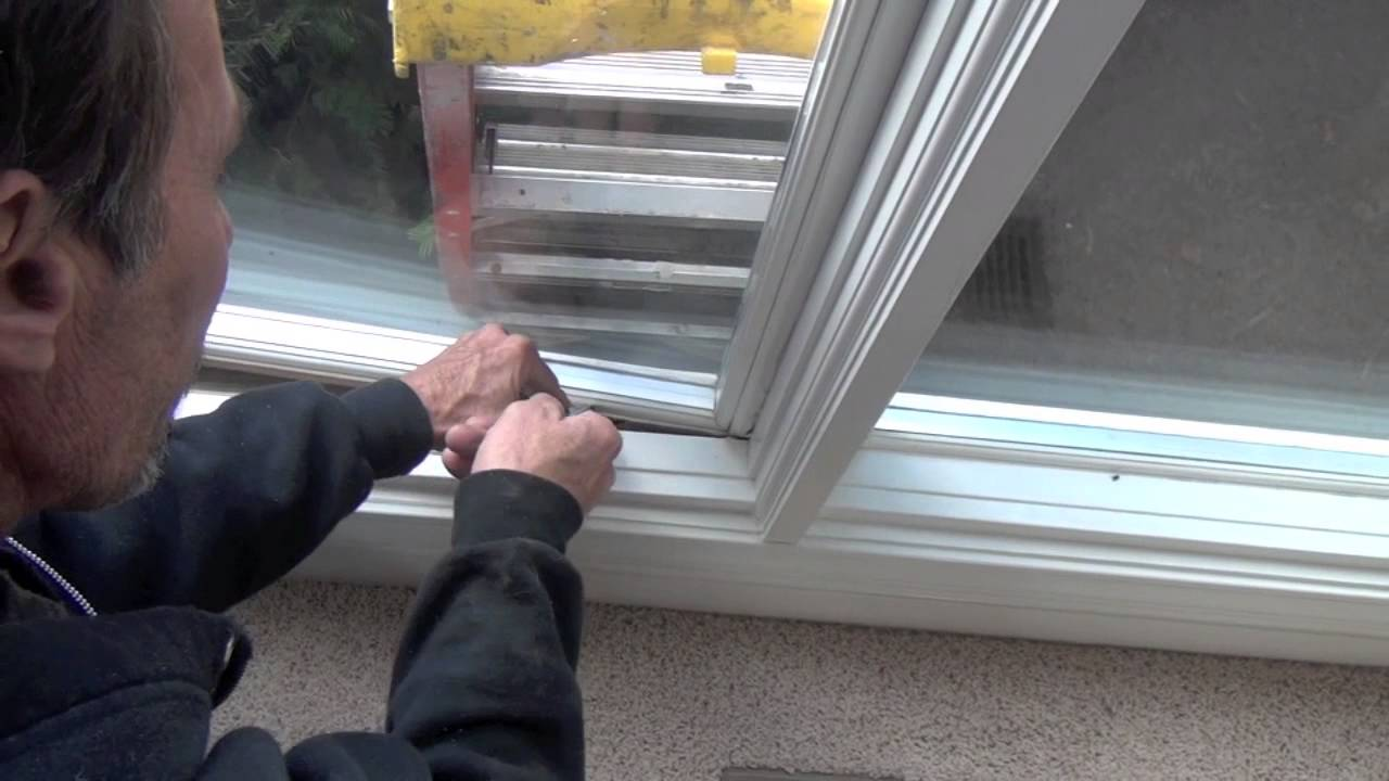 How To Replace Sash In A Weather Shield Non Moving