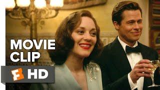 Allied Movie CLIP - Shootout (2016) - Marion Cotillard Movie
