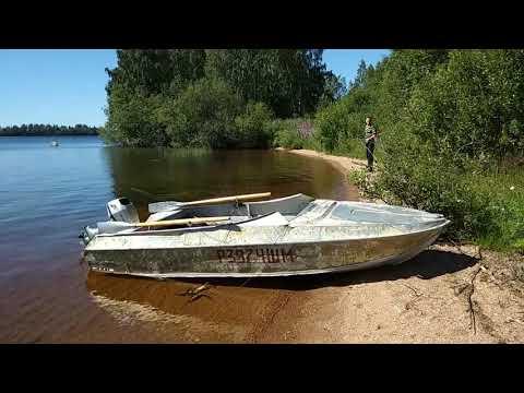 Рыбалка в Карелии.Медвежьегорский район.Волозеро.