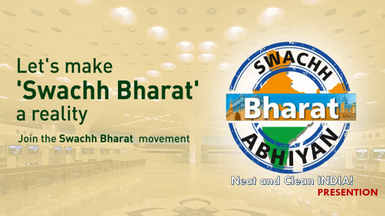 swachh bharat abhiyan presentation youtube