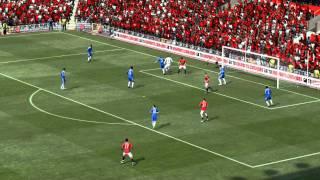 FIFA 12 Manchester United vs Chelsea FC HD