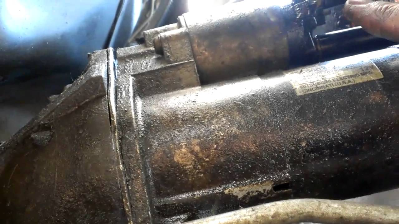 how to remove jeep starter motor from grand cherokee