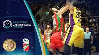 UNET Holon v Pinar Karsiyaka - Highlights - Basketball Champions League