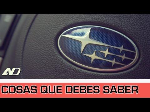 5 Datos Que Debes Saber Sobre Subaru - AutoDinámico