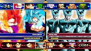 Teen Gohan SSJGod and SSJBlue VS Metal Cell Invasion | Dragon Ball Z Budokai Tenkaichi 3