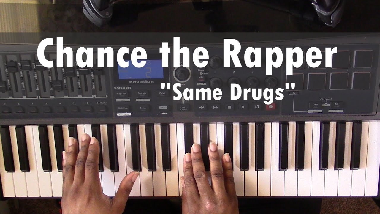 Piano lesson chance the rapper same drugs chords chordify hexwebz Gallery