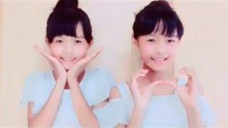 【とっても可愛い双子ダンス】 『日曜日の秘密』& 『可愛くなりたい』...