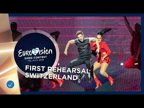 Switzerland 🇨🇭 - Luca Hänni - She Got Me - First Rehearsal - Eurovision 2019