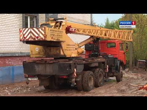 В Костроме возобновилось строительство домов обанкротившейся фирмы «Чайка»