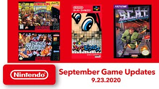 NES & Super NES - September Game Updates - Nintendo Switch Online