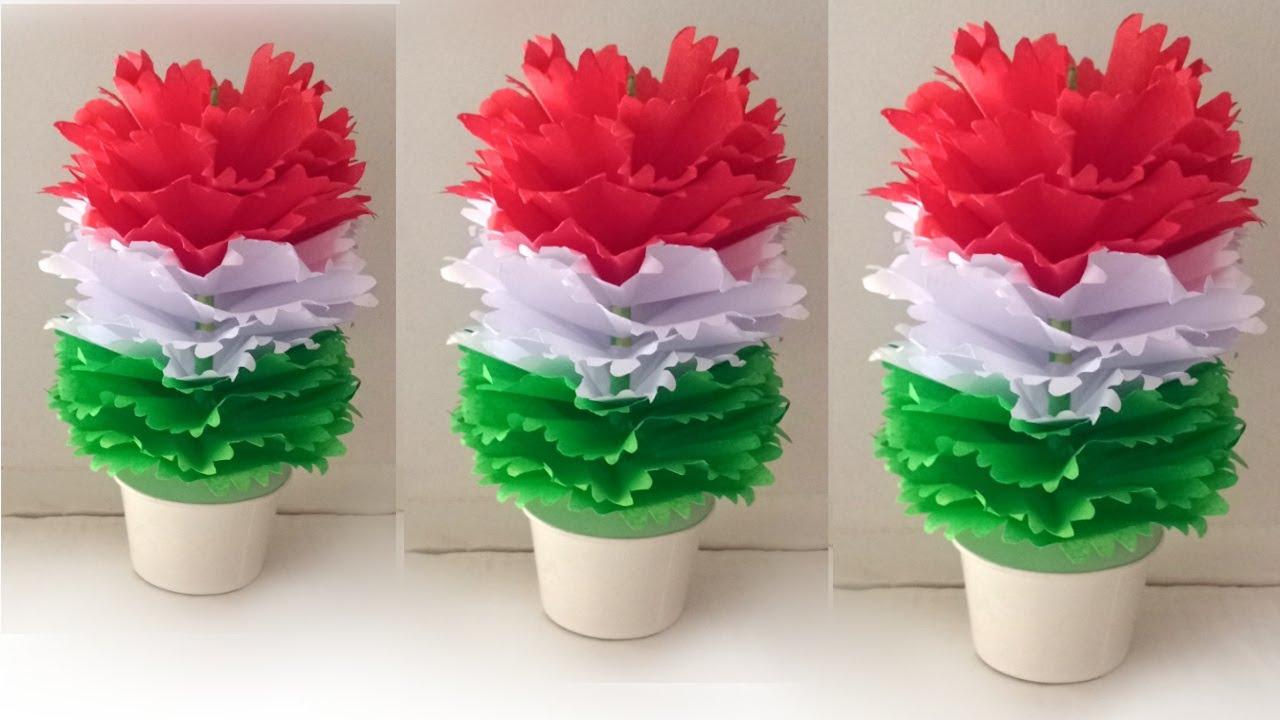 august 15th paper craft  ideas / rebublic day paper craft ideas / school decoration ideas