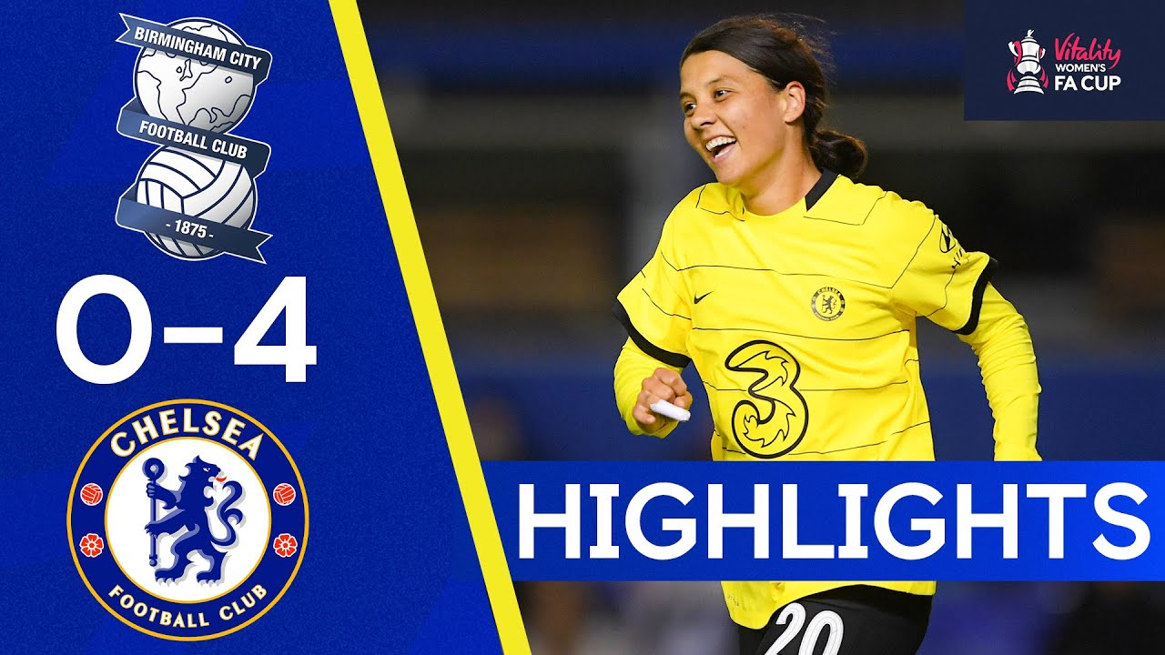Download Birmingham City 0-4 Chelsea | The Blues Are Through To The Semi Final | Fa Cup Highlights