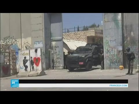 مواجهات بين الجيش الإسرائيلي ومتظاهرين في يوم الأسير الفلسطيني  - 18:21-2017 / 4 / 17
