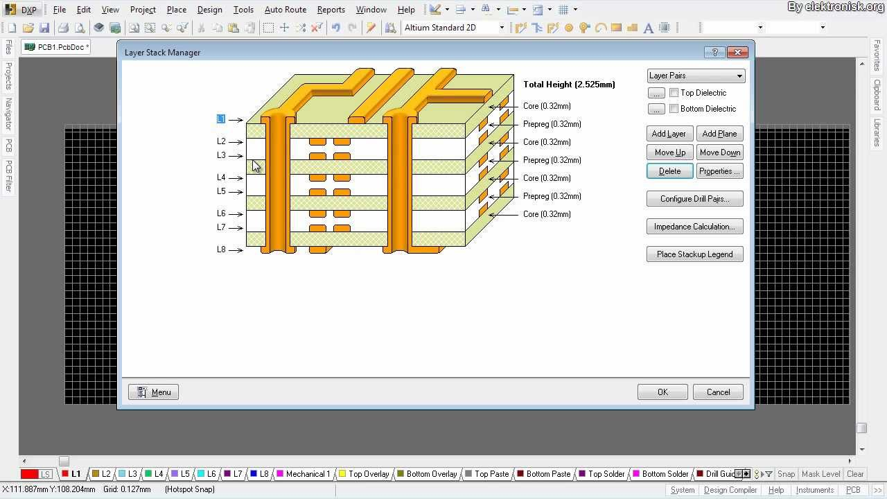 Altium Designer Tutorial: Working with vias and multiple layers