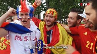 All Touching Moments about 2018 Russia World Cup