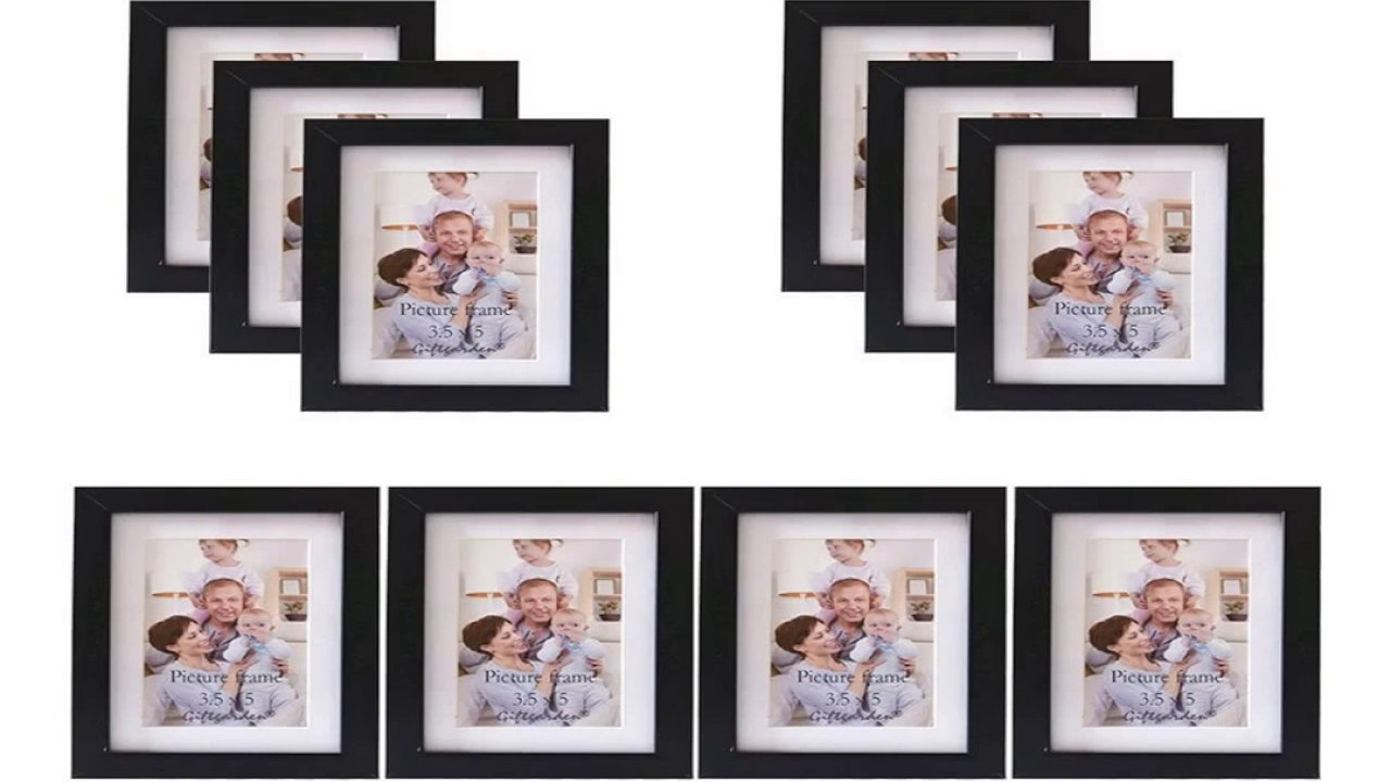 Giftgarden 5 X 3 Multi Photo Frames 5x3 Inch Synthetic Wood Frame 10pcs Pack