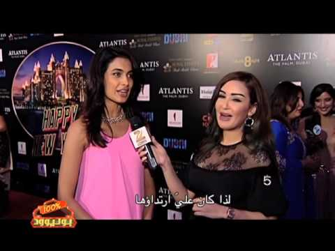 Zee Aflam Exclusive: Happy New Year Star-Cast on the Red Carpet of Worldwide Premiere in Atlantis