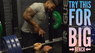 How To Get A Big Bench Now & Athletic Training| Ft. JUJIMUFU