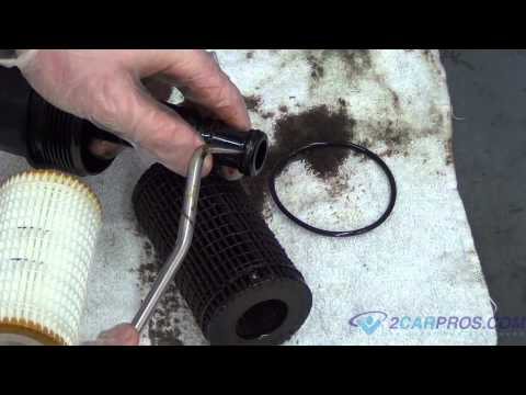 Oil Change & Filter Replacement Mercedes-Benz ML 350 2005-2011
