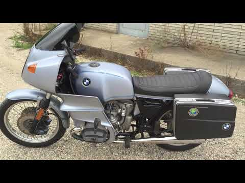 1977 bmw r100rs youtube. Black Bedroom Furniture Sets. Home Design Ideas