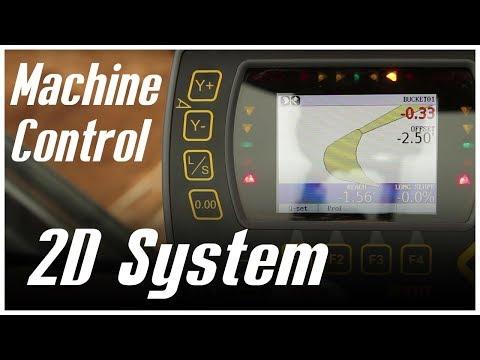 Machine Control - 2D Excavator System