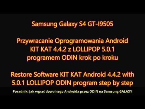 Jak Wgrać Androida Przez ODIN Na Samsung GALAXY S4, S5, S6, S7, S8, S9, S10 | ForumWiedzy