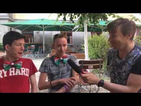 OGAE Vision Contest 2017 - Hungary - interview and performance - Regő Kovács & Tamás Vámos