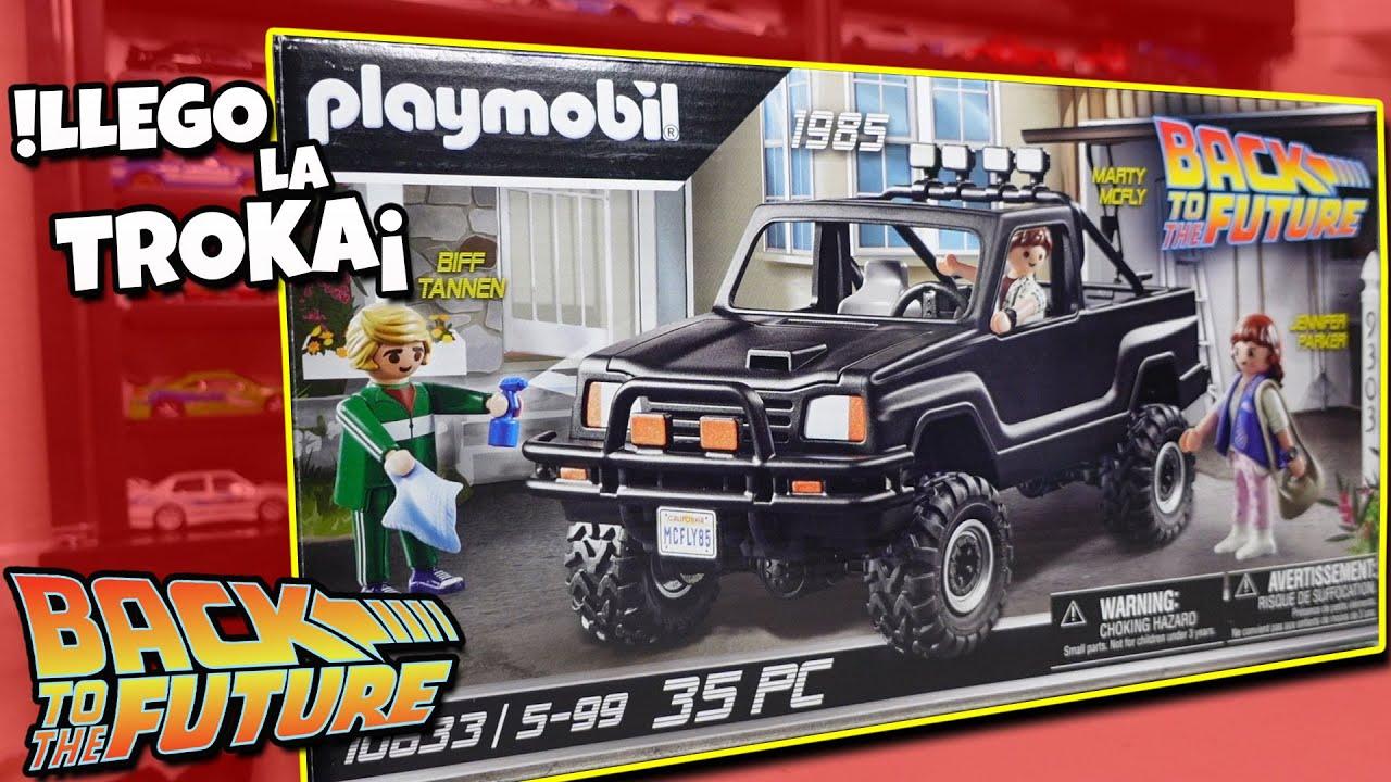 Armando mi nueva Camioneta de Volver al futuro Playmobil   Back To The Future   Toyota Hilux 4x4