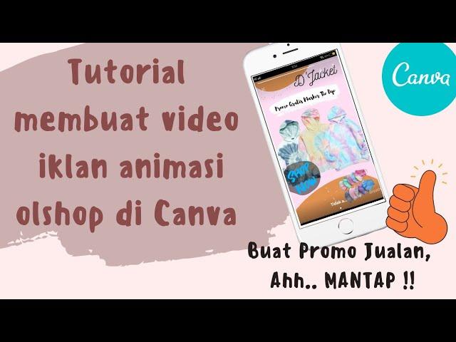 Cara Membuat Video Iklan Animasi Di Canva Youtube