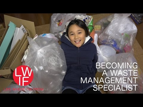Becoming Japanese Waste Management Specialist