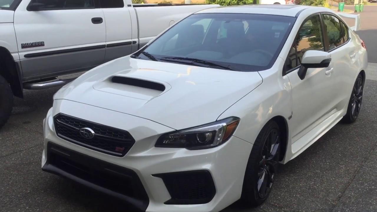 My 2018 Subaru STI Limited! - YouTube