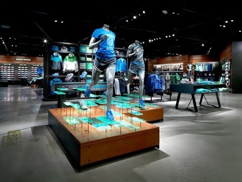 Nike Retail Design By. Adrian Nyman