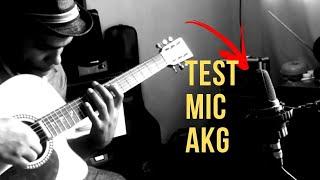Baixar Microfone AKG C 3000  Teste violão  Romario Moura