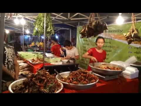 Chinatown in Myanmar - Street food on 19th street in Yangon
