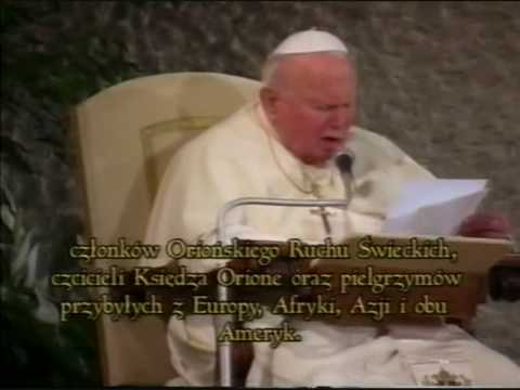 Przemówienie Ojca Świętego Jana Pawła II w dniu kanonizacji błogosławionego Alojzego Orione