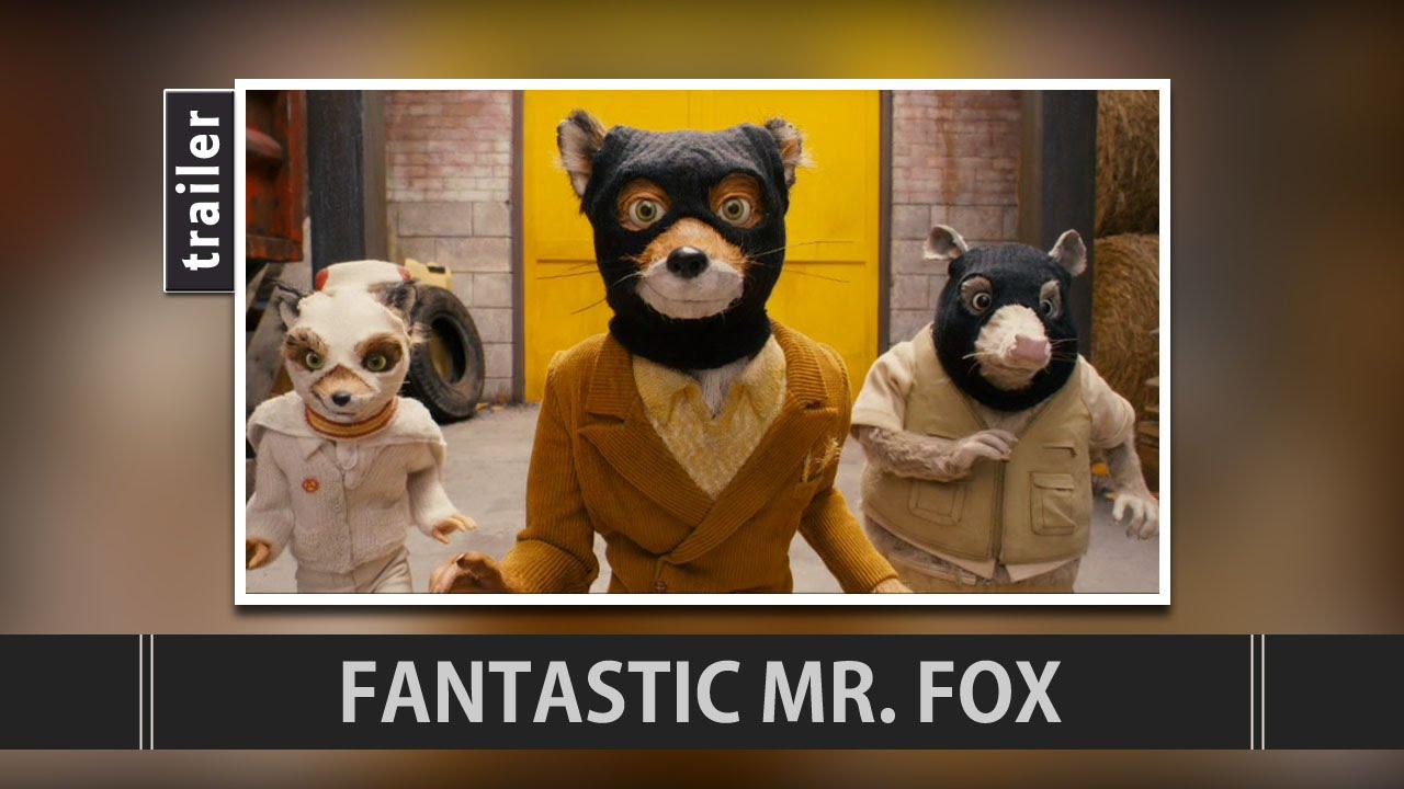 fantastic mr fox 2009 trailer youtube