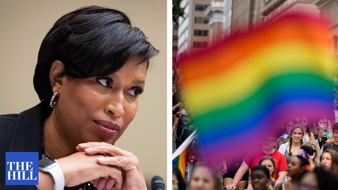 DC Mayor Bowser speaks at CAPITAL PRIDE RALLY