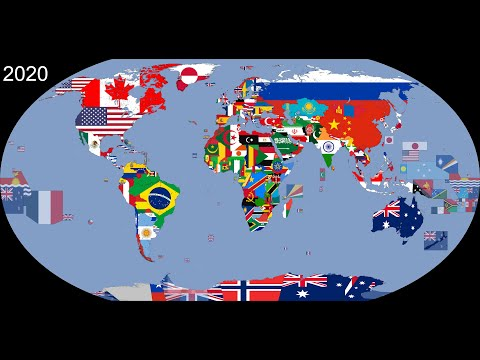 The World: Timeline of National Flags: 1019 - 2020
