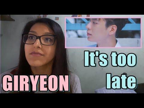 Giryeon - It's too late [MV Reaction] | MIKI 98
