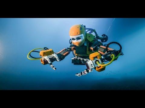 Scuba diving robot explores shipwreck - BBC Click