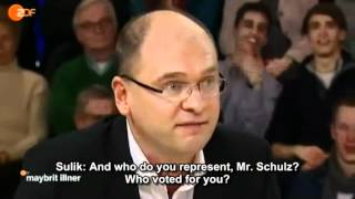 Martin Schulz makes a fool of himself