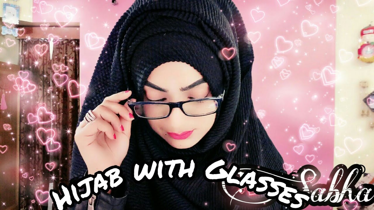 Back To School And College Hijab Tutorial With Glasses By Hijab With Sabha